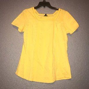 Yellow Hannah top